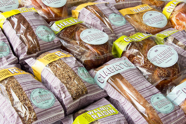 <p>You can buy HBK breads at New York City stores, greenmarkets, and the nonprofit's own storefront in East Harlem.</p>