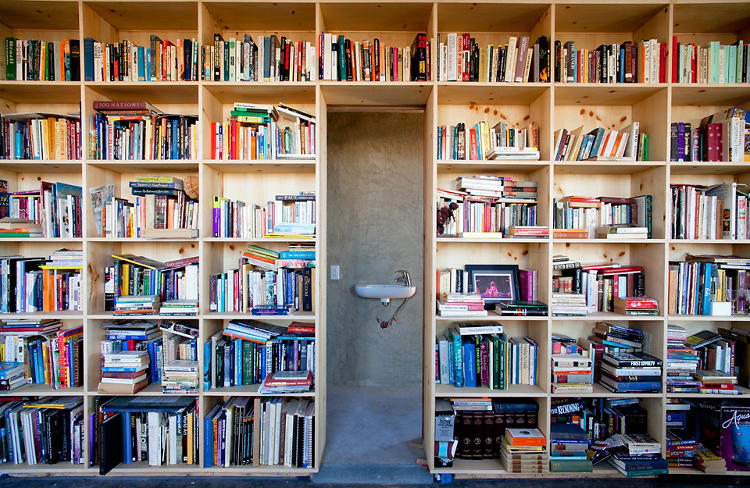 <p>The house was designed for Lorraine Nakai, a Navajo woman with a passion for collecting books and memorabilia.</p>