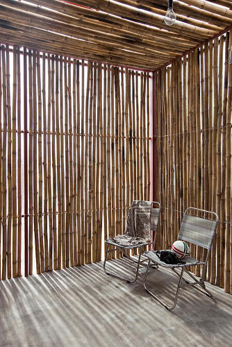 <p>The idea is to use the simplest and lightest materials to build a home that is still dignified and graceful.</p>