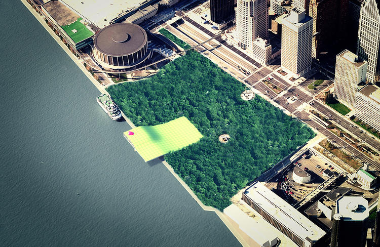 <p>&quot;The Forest,&quot; the first-place proposal in the recent <a href=&quot;http://www.aiadetroitbydesign2012.com/index.php?id=home&quot; target=&quot;_blank&quot;>Detroit by Design competition,</a> puts a patch of forest in the heart of downtown.</p>