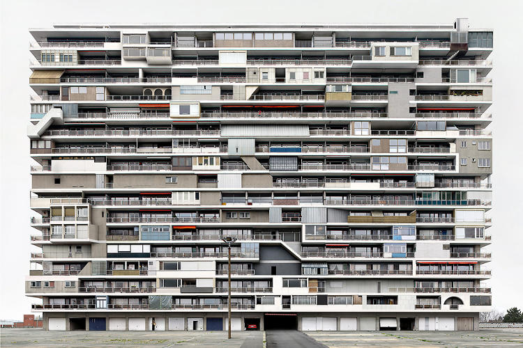 <p>In reality, his images show an aggregation of dozens of architectural conditions--say, balconies, as seen here.</p>