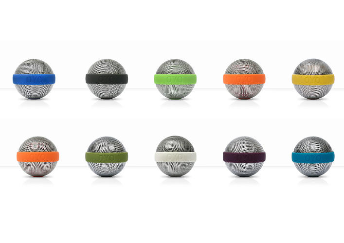 <p>You can customize the color band that joins the two halves of the sphere.</p>