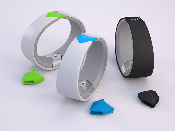 <p>The Amiigo is a fitness band with a twist.</p>
