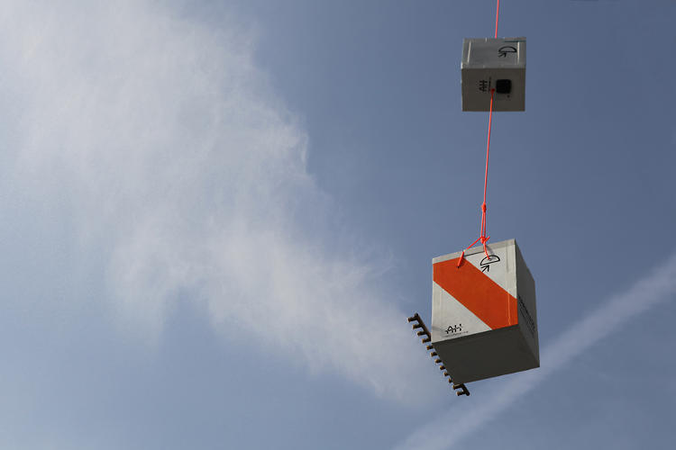 <p>Cloud Machine is a weather balloon that's fitted with equipment to seed clouds.</p>