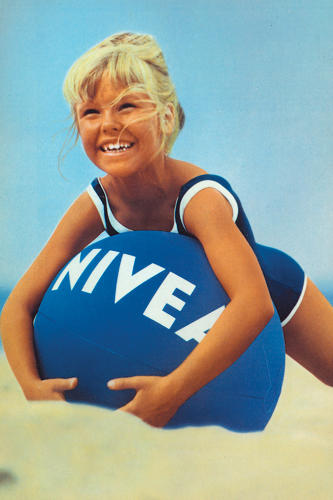 <p>Nivea has built its success on continuity--here, an ad from the 1940s shows its largely unchanged logo.</p>