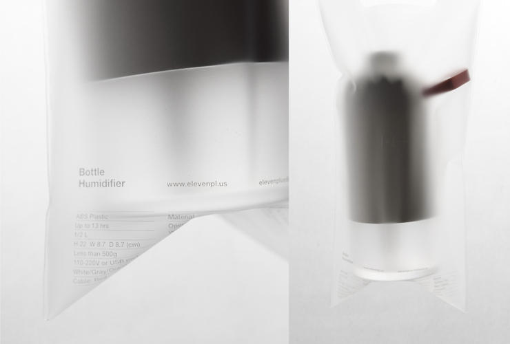 <p>The bottle humidifier is a new, elegantly sleek collaboration with Korean brand elevenplus.</p>