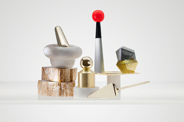 <p>Tom Dixon unveiled 30 new objects this week, all part of his second <em>Eclectic</em> accessory and gift collection.</p>