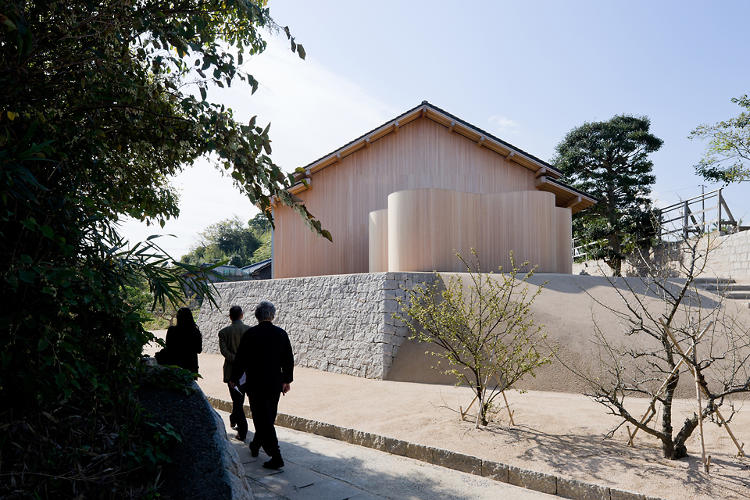 <p>The F-Art House by Kazuyo Sejima, also on the island.</p>