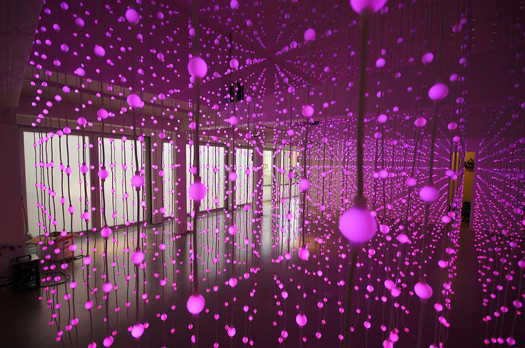 <p>Submergence, the latest installation from the international art group Squidsoup, is the culmination of several years of work.</p>