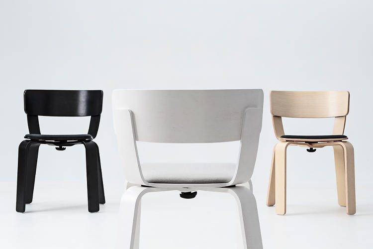 <p>No need for bolts or screws in the new collection from One Nordic--all these near flat-pack pieces have super easy assembly. Here's Form Us With Love's Bento chair.</p>