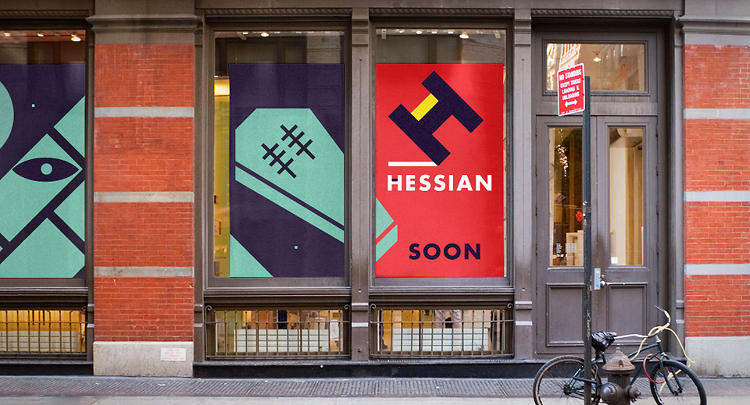 <p>Hessian.tv, a brand created by Boston designer Ben Pieratt, isn't selling anything in particular. Yet.</p>