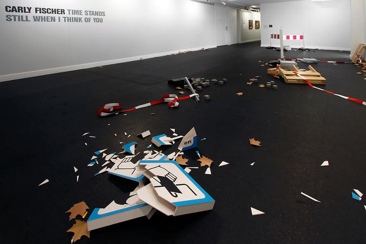 <p>&quot;In some ways,&quot; she says, &quot;the paper models become props for noticing the final objects as the real trash on the street.&quot;</p>