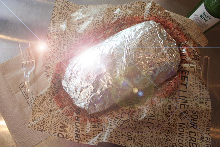 <p>Rumor had it, Chipotle's secret menu was hiding a legendary super burrito called the quesarito. With no consensus of its existence, I used every resource in my power to investigate--and later (mostly) consume--this burrito wrapped in a quesadilla. [<em>Photo credit: Mark Wilson, Co.Design</em>]</p>