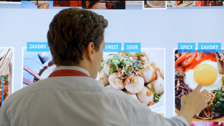 <p>But then Microsoft visionaries have to complete the interaction, so they have him smear his capsaicin-coated hands all over the kitchen display. Who thinks touch screens are a good idea for anywhere as messy as kitchens?</p>