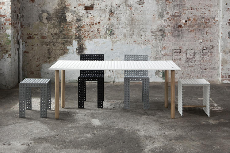 <p>Oskar Zieta's 3+ collection is incredibly strong as a result of its polka-dot perforations.</p>