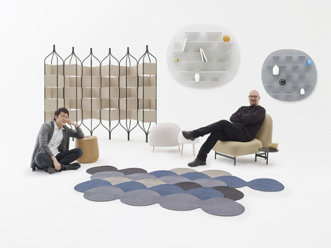 <p>Oki Sato and Luca Nichetto met over a coffee in Stockholm and decided to do a unique collaboration on a brand-new collection.</p>
