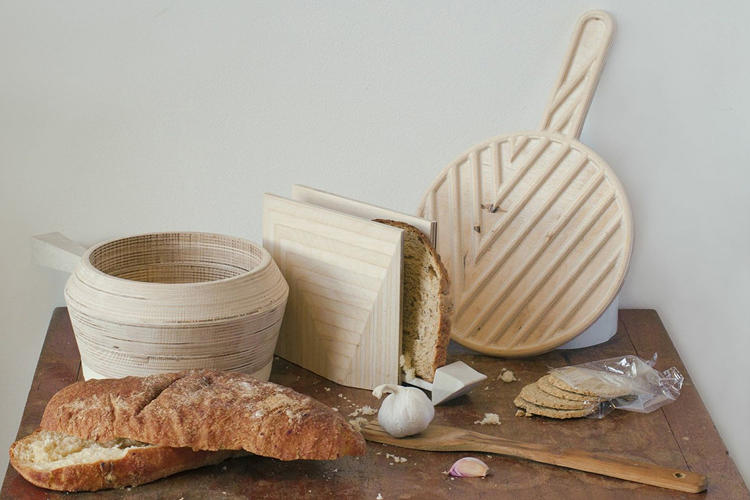 <p>Stone, an induction cookware line, disguises ferromagnetic material in mica, birch, and porcelain.</p>