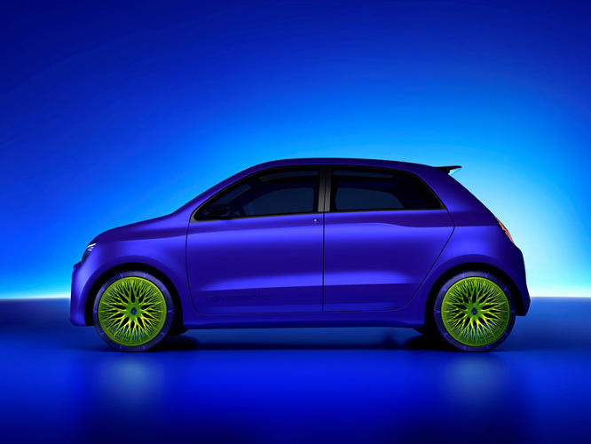 <p>The Twin'z, a concept car unveiled earlier this week in Milan.</p>