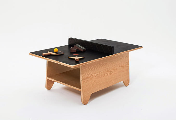A Coffee Table For Kids With A Secret Ping Pong Mode Co Design Business Design