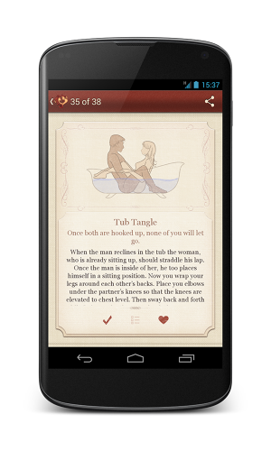 "<p>Love Spark is a ""productivity app for love.&quot;</p>"