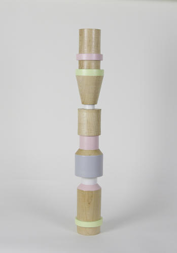 <p>The first is a set of pastel candle holders by designers Gemma Roper and Sophie Borch-Jacobsen, working under the name Nice To Be Nice Studio.</p>