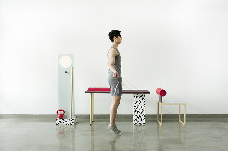 "<p>Memphis and the Sottsass-y style &quot;combines my love for the geometric functionalism of Bauhaus with a new fun feeling that I hadn't felt since I was a child,"" he explains.</p>"