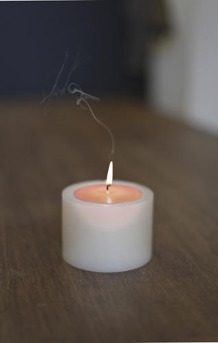 <p>The designers say the candle-within-a-candle is an exercise in waiting.</p>