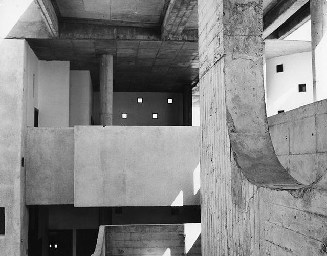 <p>The modernist architect Le Corbusier pioneered the aesthetics and uses of architectural photography. In 1949, he took on a young photographer, Lucien Hervé, whose photographs would figure greatly in the last chapter of the architect's oeuvre.</p>