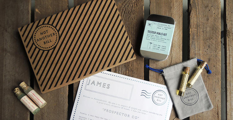 "<p>""We usually collaborate with two to three different brands, designers, and/or artists each month and commission them to create products,"" he says. Prospector &amp; Co's shaving kits were a featured product.</p>"