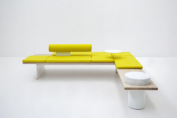 <p>It was created for the Italian furniture brand Tacchini.</p>