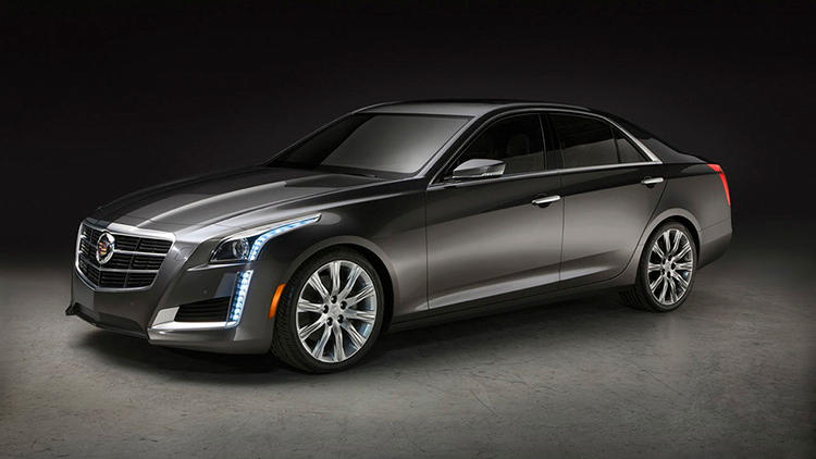 <p>This is the new Cadillac CTS.</p>