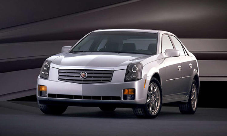 <p>That lead to the Cadillac CTS, in 2002.</p>