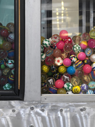 <p><em>Vending Machine</em> is the series' most playful reinvention, but also the most literal: Christie's auctioned off the gondolas, and the money will go to the Make-A-Wish Foundation of Switzerland.</p>