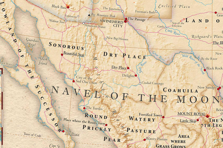 <p>Though most of Mexico's land wasn't named so lovingly. It's a dry, prickly place.</p>