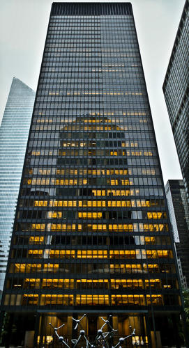 <p>Canonical New York buildings like Mies's Seagram Building and SOM's Lever House owe less to Le Corbusier, but they're included anyway.</p>  <p>Photo: Ciccio Pizzettaro</p>