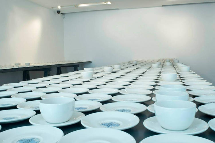 "<p>The porcelain was sourced from British manufacturer Dudson's. ""The requirement I applied to the design was that it was very everyday, not hierarchical or special,"" Twomey says. ""It should be an approachable and understandable form.&quot;</p>"