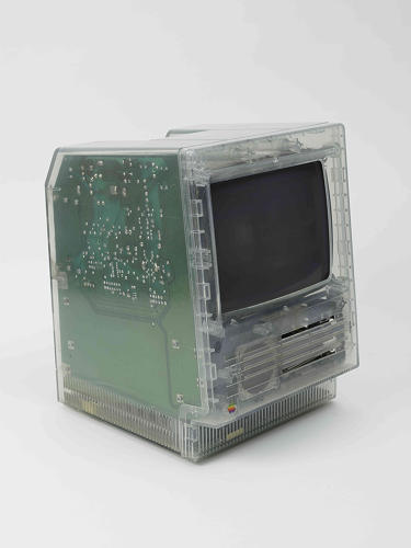 <p>The Translucent Macintosh, built in 1987, sold for $6,250 in the auction. It's easy to see the Translucent Mac as an early harbinger of the iconic fruit-colored iMacs.</p>