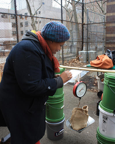 <p>About 35 percent of the waste generated by more than eight million New Yorkers is organic matter that can be composted.</p>