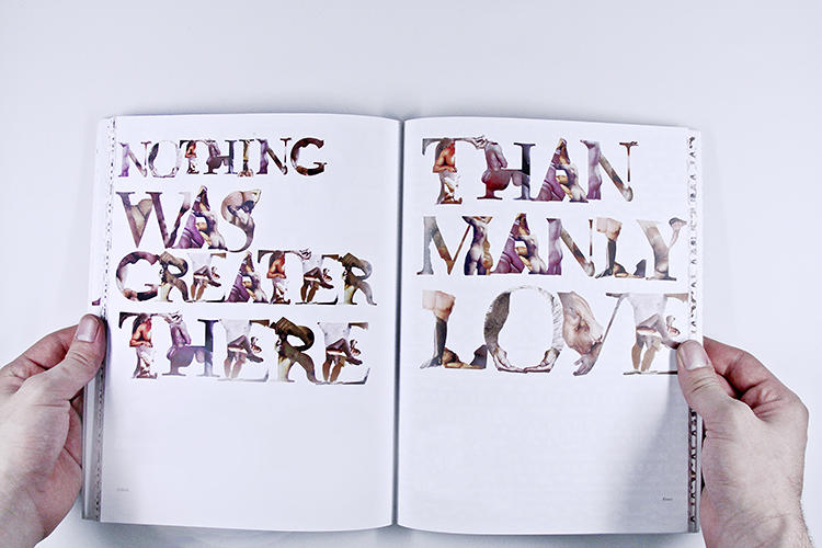 "<p>Graphic designer Erik Freer invented the typeface of naked men in tribute to <em>Leaves of Grass</em>, Walt Whitman's famous (and famously banned) poetry collection. ""I wanted to experiment with visually illustrating the then-controversial eroticism of these poems,"" he tells Co.Design, ""something that would've been unacceptable in Whitman's time.""</p>"
