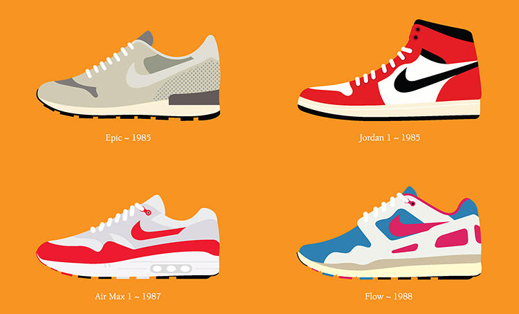 <p>One of his first acquisitions was the Nike Cortez, a low-rise, casual runner that remains Cheetham's favorite design.</p>