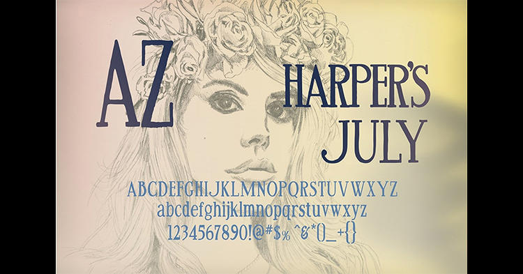 <p>And Harper's July.</p>