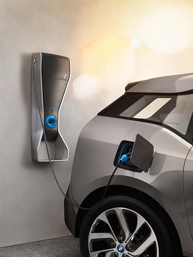 <p>If this electric charging option isn't enough, there's also an extended range option that puts a two-cylinder gas engine in the car. It almost doubles mileage.</p>