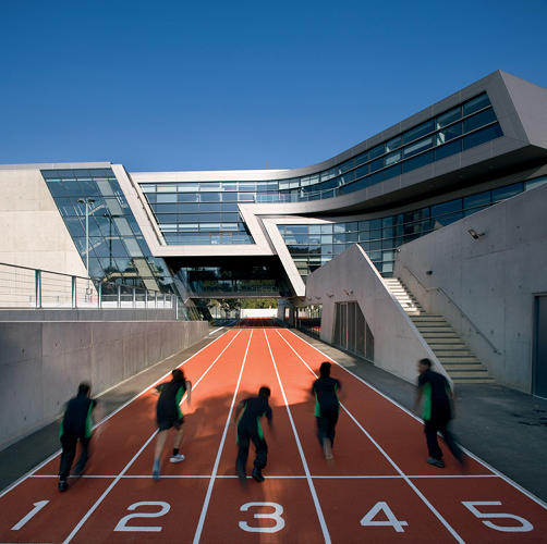 <p>The Evelyn Grace Academy (2010) in London secured a second Stirling Prize for Hadid.</p>