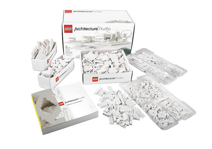 <p>&quot;We rarely offer a toolkit in only one color, but using white actually creates natural lines and shadows that can more accurately represent architectural shapes and form,&quot; explains Lego's brand relations director, Michael McNally.</p>