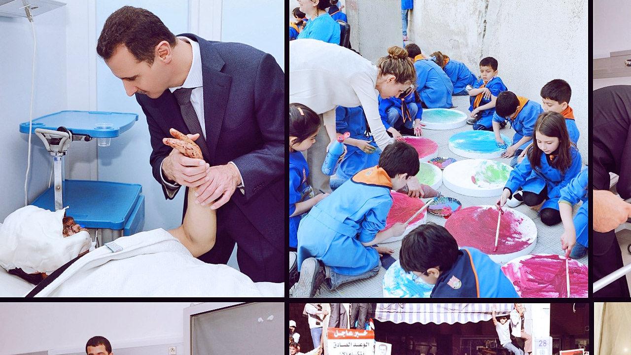 Asma Al Assad Wedding Photos - Unique Wedding Ideas