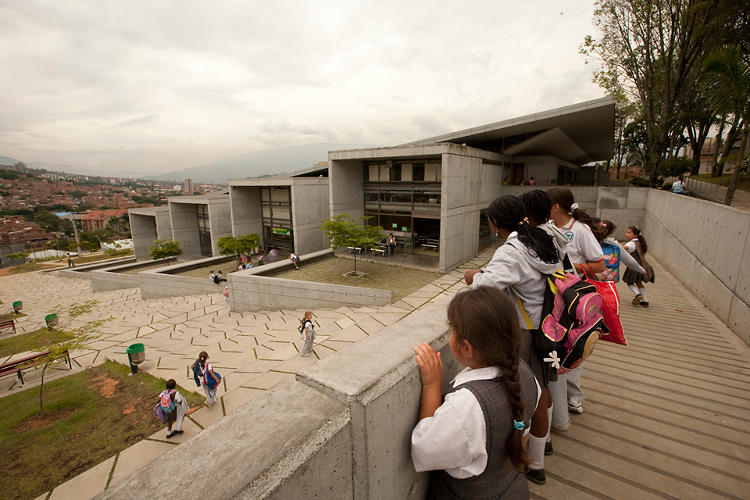 <p>Five Parques Bibliotecas (library parks) within some of the most marginalized parts of Medellin, Colombia, are changing lives. The Parques Bibliotecas have catalyzed the community, providing information access, a prided community space, and architectural icons for the city.</p>