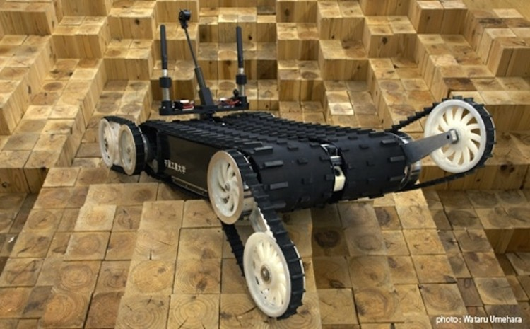 <p>This bot, developed by researchers at the Future Robotics Technology Center, comes with a camera, CO2 sensors, a door opener, speakers, a mic, and an infrared thermography camera. The bot was also used after the Japan disaster to locate survivors in hard-to-reach areas. More recently, a modified version of Quince was sent to the Fukushima nuclear plant to measure radiation.</p>