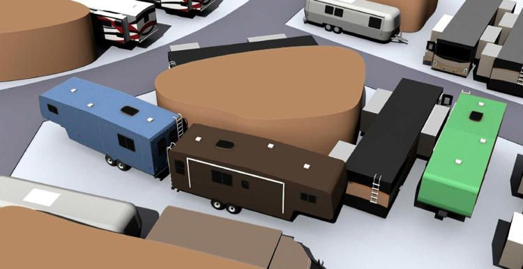 <p>Only RV-owners are allowed in the Atchinson shelter &quot;and resort,&quot; paying $1,000 per RV-foot for membership, plus $1,500 a person for a year's worth of food.</p>
