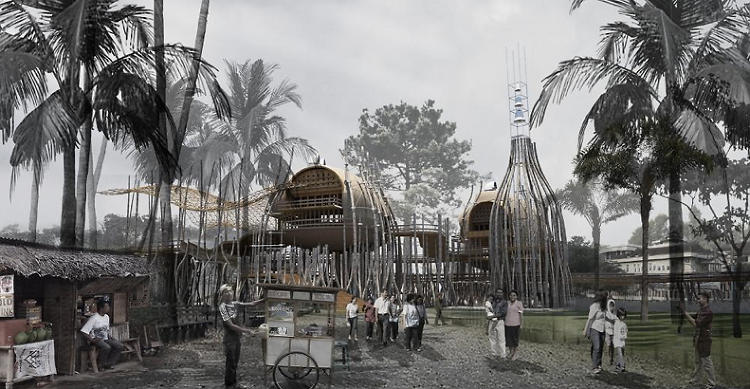 <p>It could be used to build structures that would be community hubs but also work as protection in the event of a tsunami.</p>