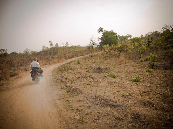 <p>Each day--armed with, depending on the stage of the program, a better understanding of the context or a higher fidelity prototype--Reboot gets up to do it all over again. Team members travel by motorbike to reach more remote locations, such as the village of Yashi Madaki in Nasarawa State.</p>